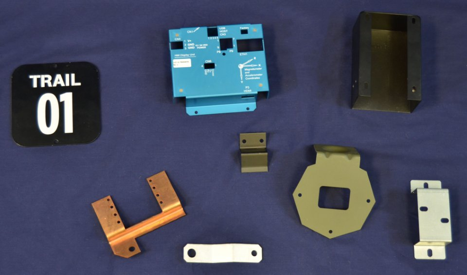 Manufactured Metal brackets